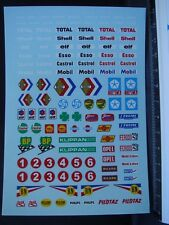 DECALS 1/43 DIVERS PUB DECO SOLIDO - T398