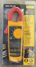 Brand New Fluke 324 Plus True Rms Acdc Professional Clamp Meter 772345
