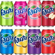 👀 REDUCED PRICE 👀 AMERICAN FANTA SOFT SODA DRINK 4 X 355ml CAN DEAL