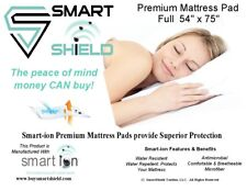 Mattress Pad-Quilted- Full- Antimicrobial, Water proof- NIP- washer/dryer safe
