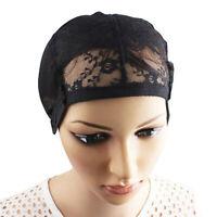 Bonnet tressé avec perruque rétractable et dôme élastiqu·