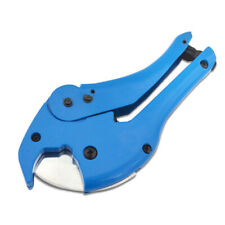 42mm Plastic Pipe Cutter Ratchet Action Plumbing Tool PVC Water Tube Hose Shear
