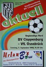 Programm 1998/99 BV Cloppenburg - VfL Osnabrück