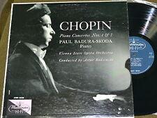 Chopin - Piano Concertos Nos. 1 & 2 - Badura  - Westminster XWN 18288 -  EX/EX