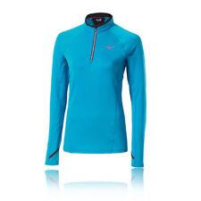 Abbigliamento sportivo da donna blu manica corta