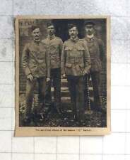 1902 Surviving Officers Of The Famous Q Battery