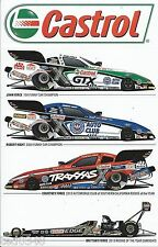 2013 JOHN FORCE, BRITTANY FORCE, COURTNEY FORCE & ROBERT HIGHT 4-CAR DECAL!