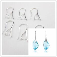 6 pares plateada riñón cables para Earrings joyas Resultados