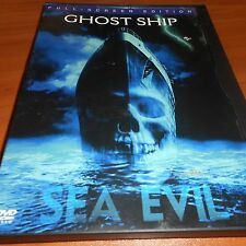 Ghost Ship (DVD, 2003, Full Frame) Gabriel Byrne Used Desmond Harrington