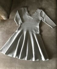 Brand New Gray Knit Korean Fashion Dress Size Small