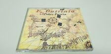 JJ9- FRANCO BATTIATO POBRE PATRIA CD 2 TRACKS NUEVO NUNCA USADO