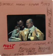 POPE PAUL VI 1963-1978 Archbishop of Milan Second Vatican Council ORIG SLIDE 7