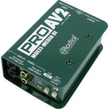 Radial ProAV2 Multimedia Direct Box