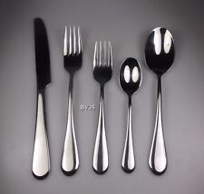 ONEIDA STAINLESS ICARUS 5 PIECE PLACE SETTING - SETTINGS - EXCELLENT