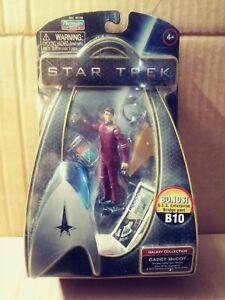Star Trek 2009 movie Playmates action figure Cadet McCoy w Bridge part mip