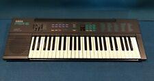 Vintage 1989 Yamaha PSR-6 Synthesizer/Keyboard 49 Keys w/ Cord & Case SEE VIDEO!