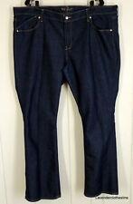 Old Navy The Flirt  Womens 20 Dark Wash Boot Cut Stretch Jeans Inseam 31.5