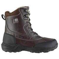 Karrimor Casual Mens Snow Boots Brown UK 10 US 11 EUR 44 REF 172*