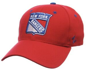 "NEW YORK RANGERS NHL Zephyr Breakaway Red (LARGE) HAT ""NEW"""
