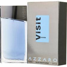VISIT BY AZZARO FOR MEN-EDT-SPRAY-3.4 OZ-100 ML-AUTHENTIC-FRANCE