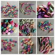 10-100 Dijes Acrílico Multicolores. 9 Diseños. joyería y artesanía hacer