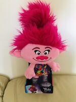"""Trolls World Tour Festival Poppy 14"""" Plush Soft Toy Trolls 2 Movie"""