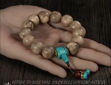 kalimantan 16 mm Japa Mala Meditation Wild Agarwood Aloewood Prayer beads #3080