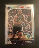 🔥🔥 2019-20 NBA Hoops Premium Stock Eric Paschall SILVER MOJO Prizm Rookie 🔥🔥