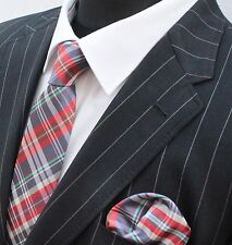 Tie Neck tie Red Green Blue Grey Black GT04
