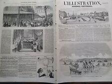 L'ILLUSTRATION 1855 N 659 ETAT DES VAISSEAUX RUSSES APRES LA PRISE DE SEBASTOPOL