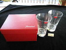 """BACCARAT PAIR BELUGA HIGHBALL GLASSES, 5 1/2"""", W/BOX, EXCELLENT CONDITION"""