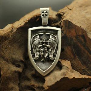 Archangel Michael Protection Necklace Charm Jewellery Spiritual pendant shield