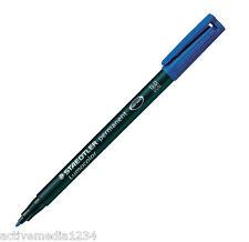Staedtler Lumocolor M Perm Blue 317-3  10 Pack