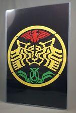 "OOO TATOBA EMBLEM POSTER w/ Top Loader 17"" Art Print Masked Kamen Rider O-Medal"