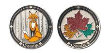 Canada Fox Collectible Coin