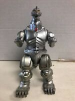 1994 TrendMasters Godzilla King Of Monsters Loose Mecha Silver Action Figure