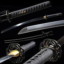 Handmade High Carbon Steel Blade Japanese Samurai Swords Full Tang Katana #355