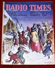 CHRISTMAS RADIO TIMES 25 December 1937-1st January Xmas Special Issue magazine