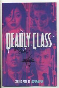 DEADLY CLASS #1 SDCC SYFY TV CAST VARIANT SIGNED BY RICK REMENDER & WES CRAIG NM