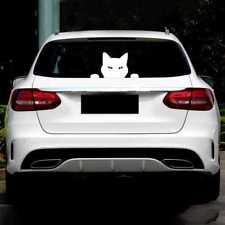 14*7,5cm Auto Motorrad Nette Lustige Haustier Katze Dekorative Aufkleber Decals