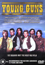Young Guns - Charlie Sheen, Emilio Estevez, Kiefer Sutherland - DVD