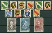 Französische Zone Allgemeine Ausgabe 1 - 13 sauber postfrisch MNH