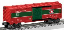 LIONEL  6464 GREAT NORTHERN CHRISTMAS BOXCAR O GAUGE