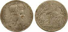 Louis XV, jeton du sacre, 1722, Reims (Nuremberg), laiton saucé argent - 10