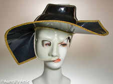 Mask Phantom Of The Opera Mardi Gras Carnival Masquerade Mask With Faux Hat