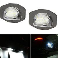 LED Kennzeichenbeleuchtung Heckleuchte Kennzeichen Lampe für Toyota E14 E15 A535