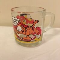 Garfield McDonalds Coffee Tea Cocoa Mug Cup 1978 Skateboard Use Your Friends ...