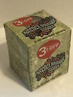 NOS Kleenex Tissues Boutique Avocado Green 125 2-ply MOD 1967 Movie Prop Vintage