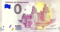 BILLET 0  EURO PIC DU MIDI LE PONTON DANS LE CIEL FRANCE 2018 NUMERO 100
