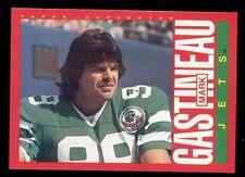 1985 Topps Mark Gastineau New York Jets Box Bottom Card